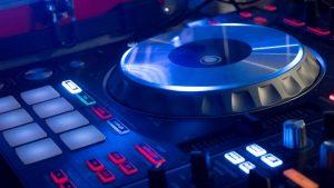 Festival musicale Festa evento Dance Party Console DJ